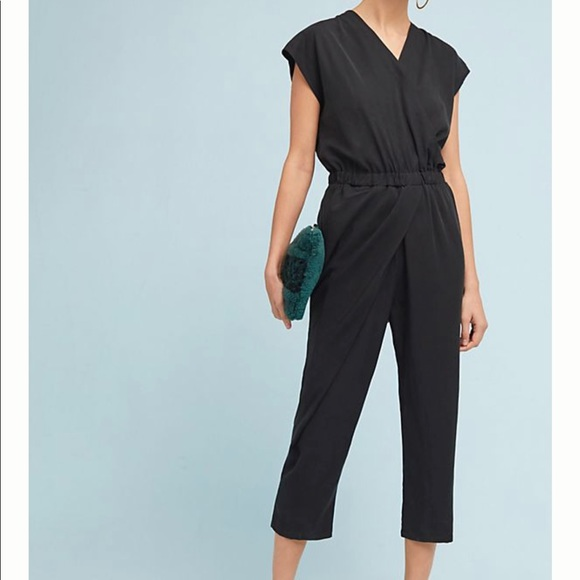 cba06ec34a8 Anthropologie Pants - Anthropologie Petite Crossover Jumpsuit